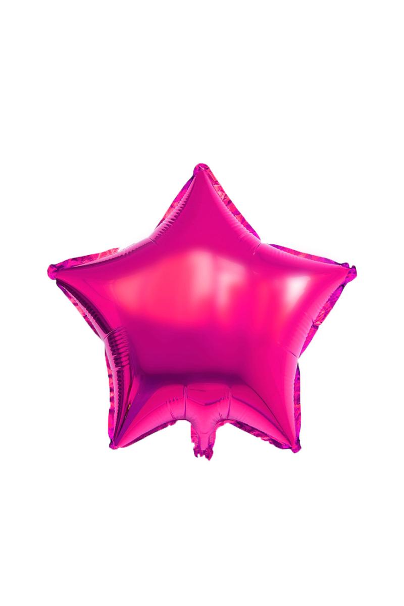 Yıldız Folyo Balon 45cm (18 inch) Fuşya 1 Adet