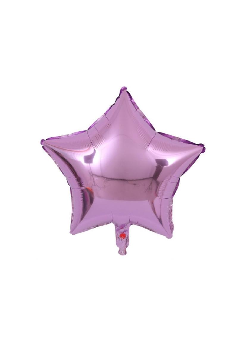 Yıldız Folyo Balon 45cm (18 inch) Lila 1 Adet