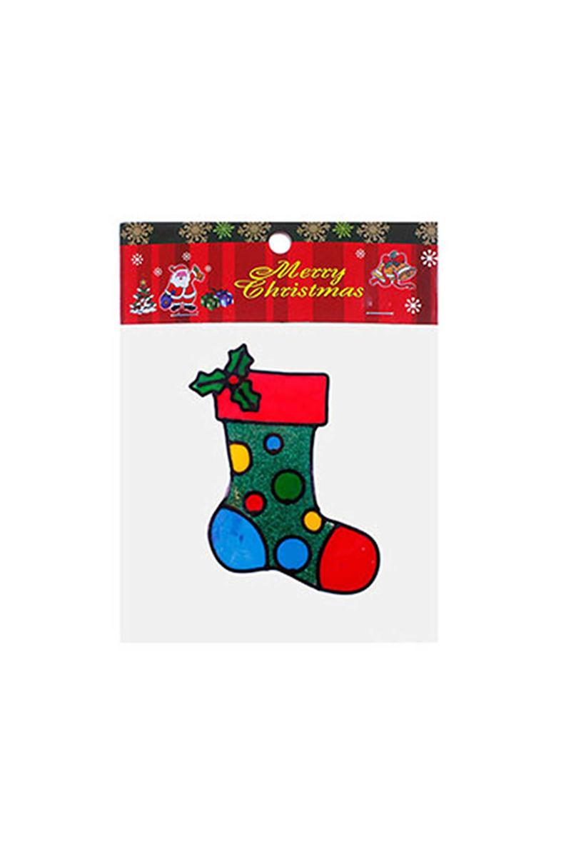 Yılbaşı Çorabı Sticker 1 Adet