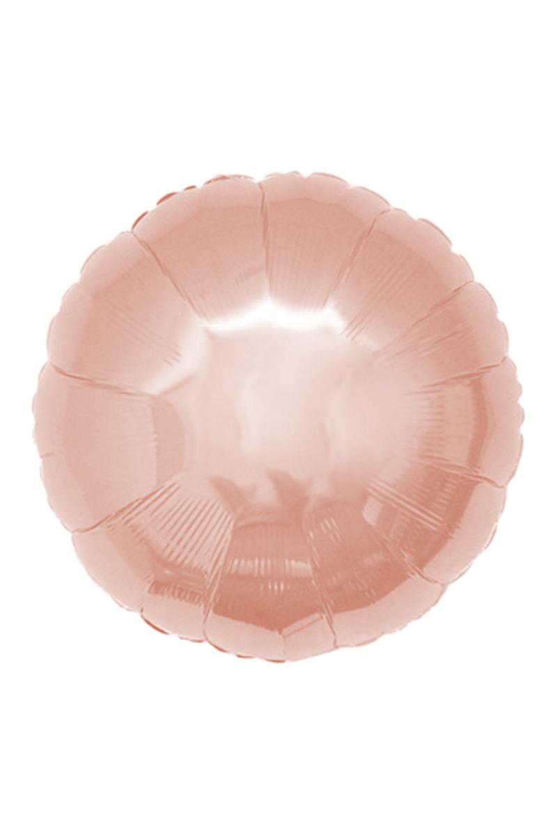 Yuvarlak Folyo Balon 45cm (18 inch) Rose Gold 1 Adet