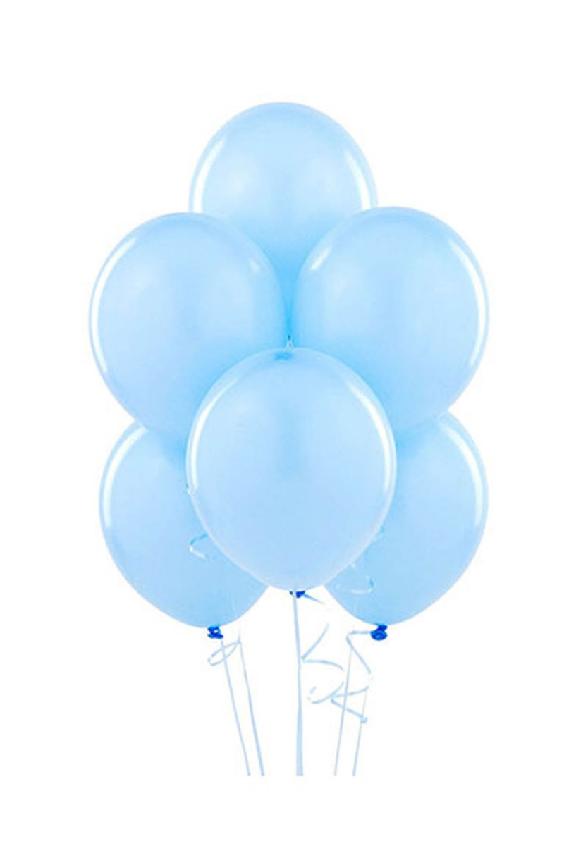Açık Mavi Lateks Balon 30cm (12 inch) 20li