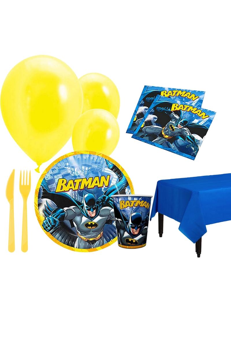 Batman Parti Seti 8 Kişilik 97 Parça