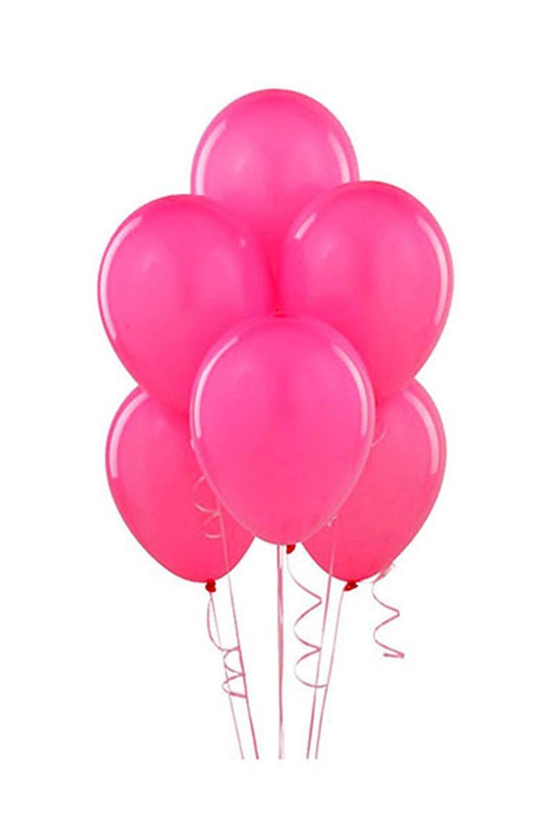 Fuşya Lateks Balon 30cm (12 inch) 50li