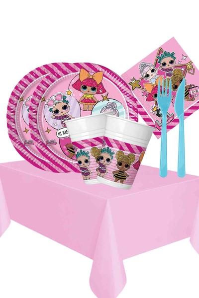 Lol Bebek Temalı Doğum Günü Seti 103 Parça 16 Kişilik Model 3