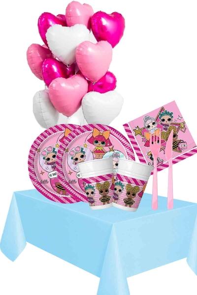 Lol Bebek Temalı Doğum Günü Seti 114 Parça 16 Kişilik Model 1