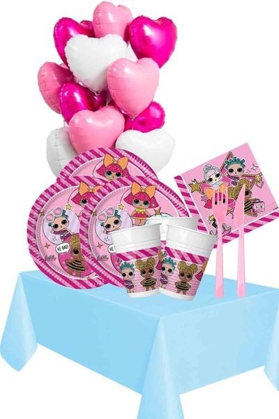 Lol Bebek Temalı Doğum Günü Seti 124 Parça 24 Kişilik Model 1