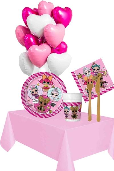 Lol Bebek Temalı Doğum Günü Seti 98 Parça 8 Kişilik Model 2