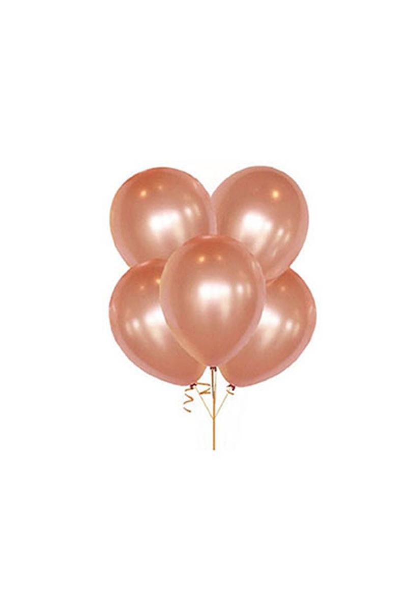 Metalik Rose Gold Balon 30cm (12 inch) 50li
