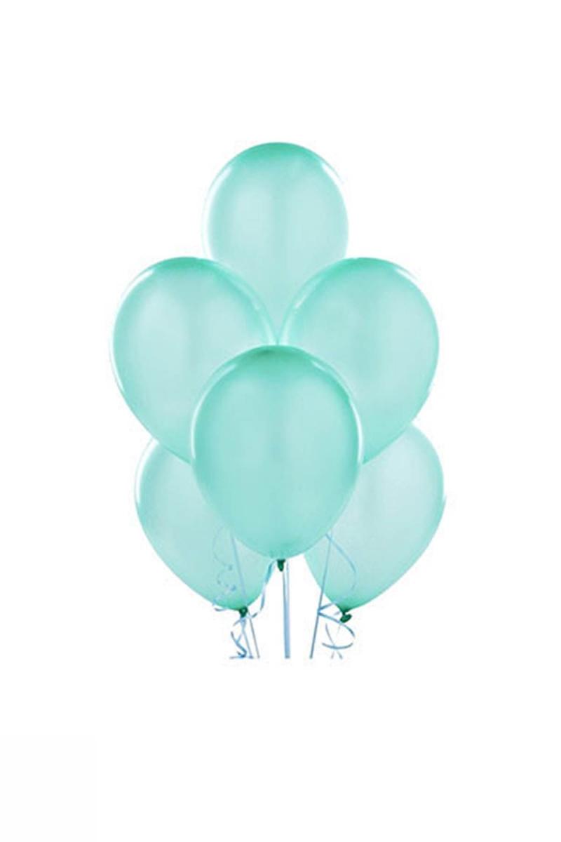 Mİnt Yeşili Lateks Balon 30cm (12 inch) 50li
