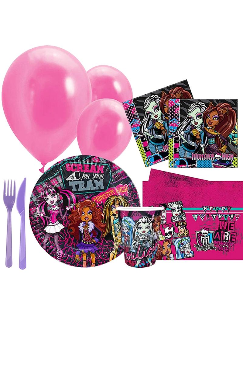Monster High Parti Seti 8 Kişilik 97 Parça