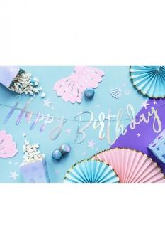 Pastel Renkler Doğumgünü Parti Seti - Thumbnail