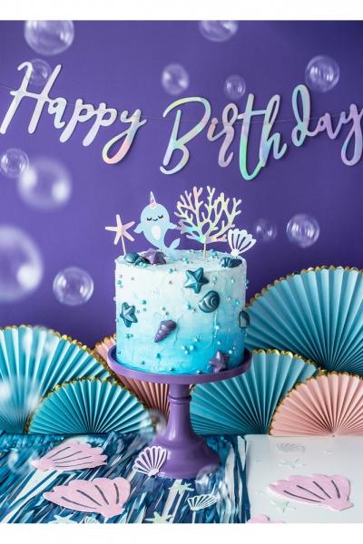 Pastel Renkler Doğumgünü Parti Seti