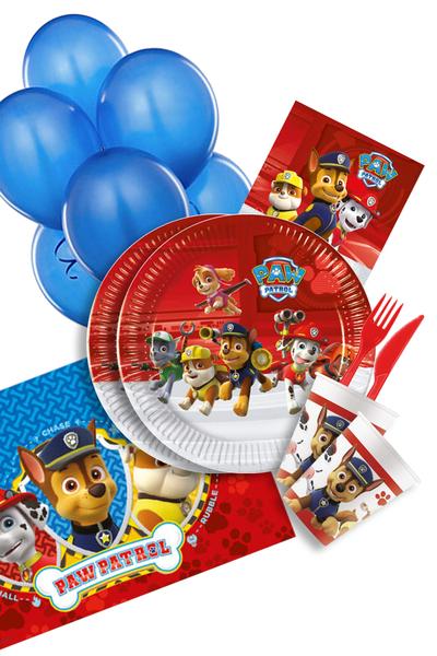 Paw Patrol Ready For Action Doğum Günü Parti Seti 103 Parça 16 Kişilik