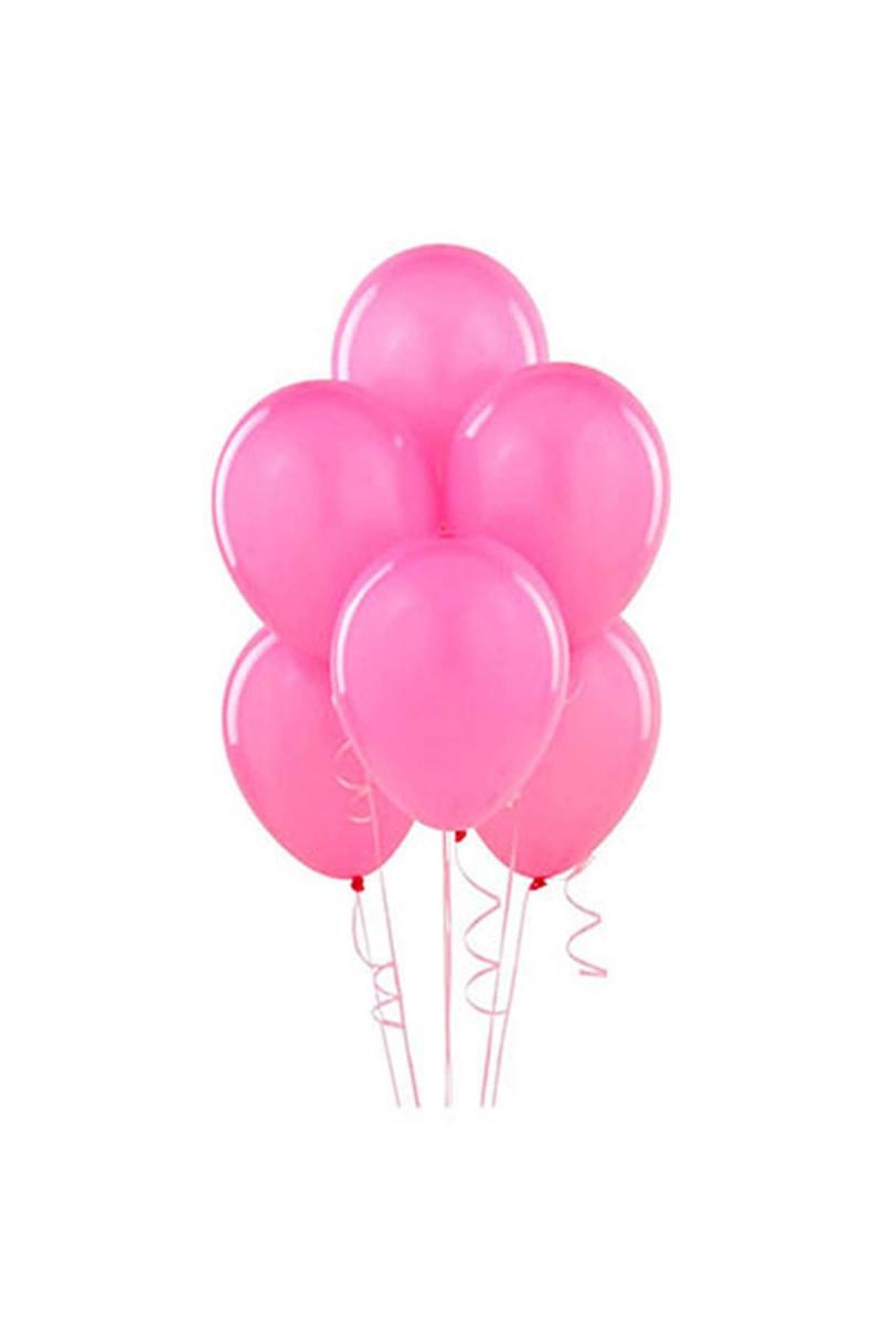 Pembe Lateks Balon 30cm (12 inch) 50li