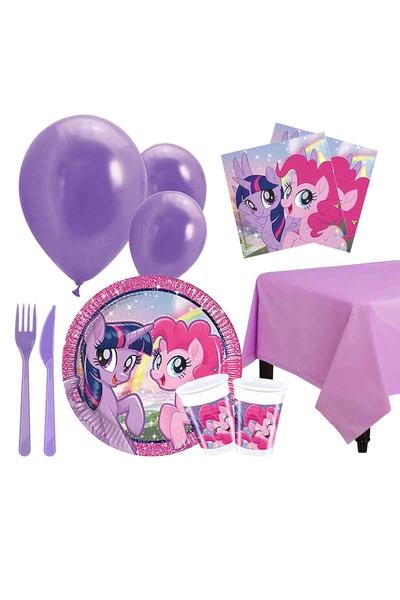 Pony ve Arkadaşları Parti Seti 8 Kişilik 97 Parça