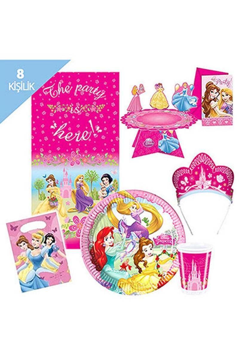 Prensesler Parti Seti 8 Kişilik 113 Parça - Thumbnail