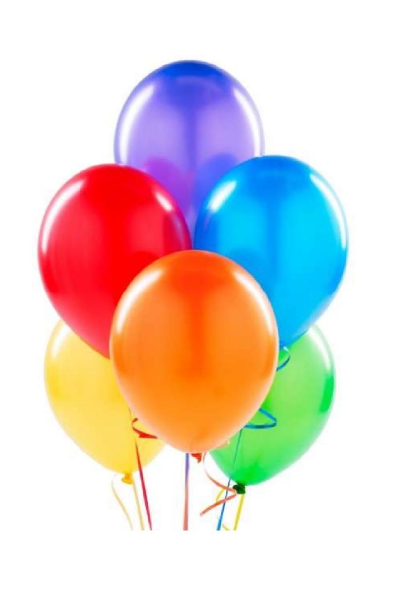 Renkli Lateks Balon 30cm (12 inch) 50li