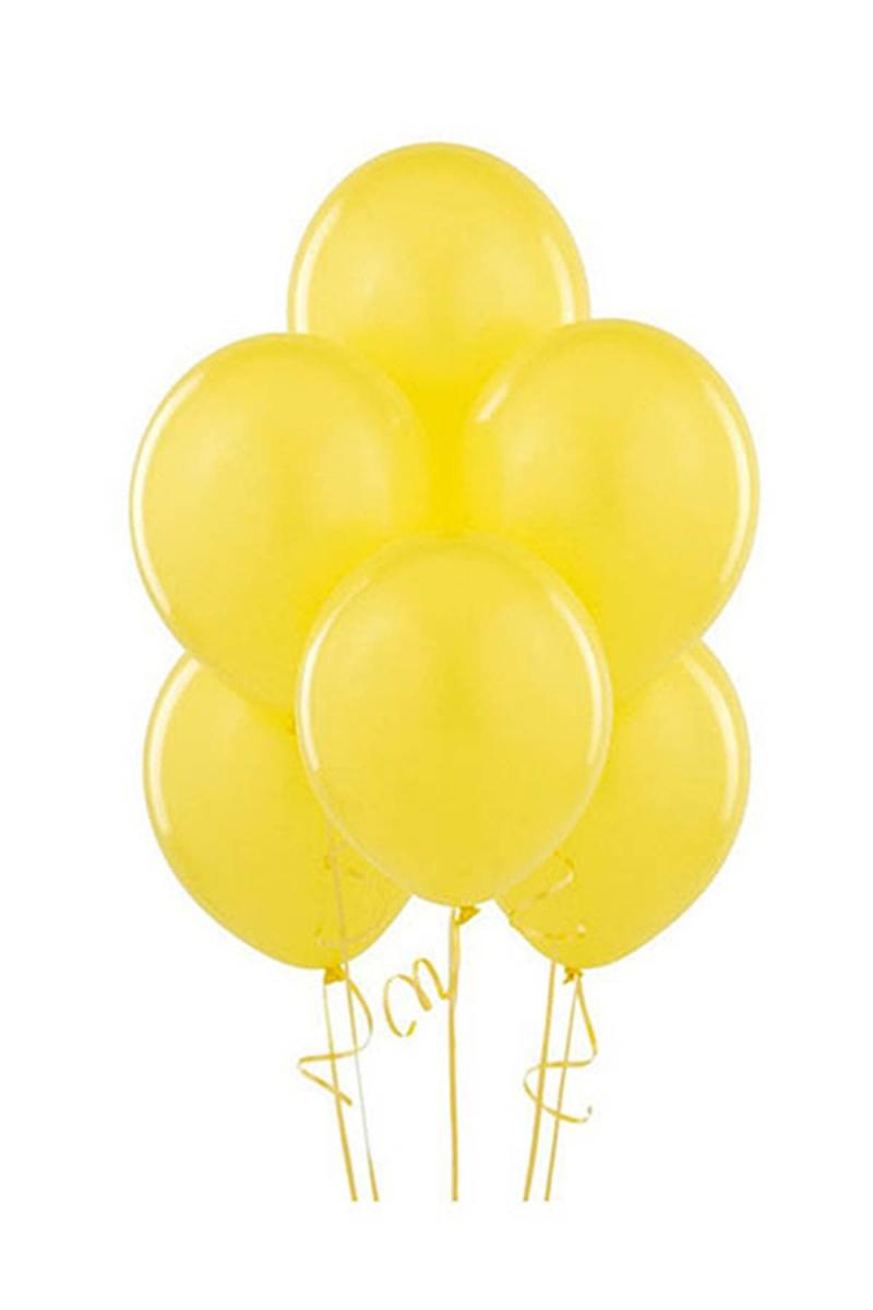 Sarı Lateks Balon 30cm (12 inch) 50li