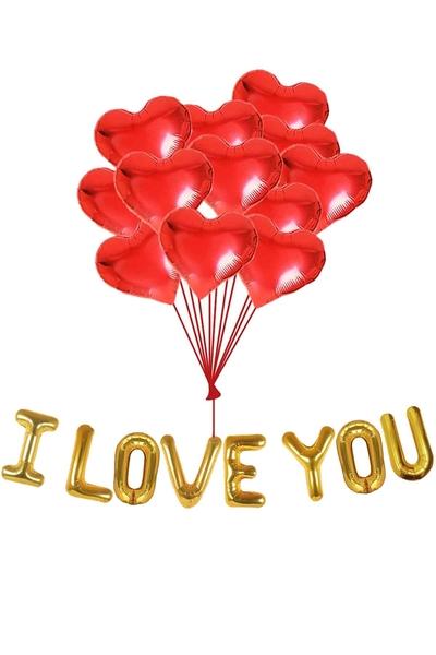 Sevgililer Günü Balon Dekor Seti 20 Parça Model 29