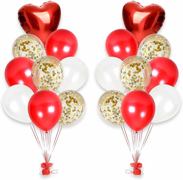 Sevgililer Günü Balon Dekor Seti 34 Parça Model 40