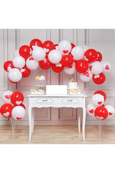 Sevgililer Günü Balon Dekor Seti 53 Parça Model 1