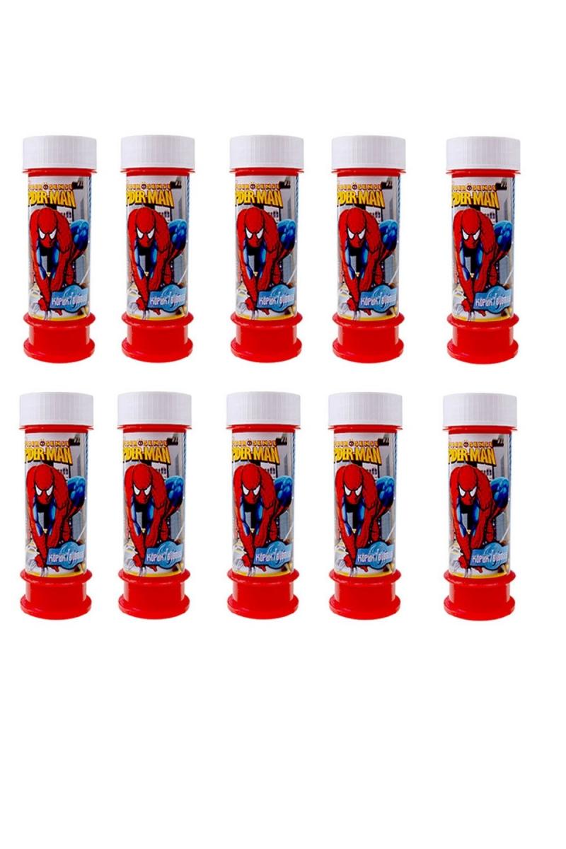Spiderman Köpüklü Baloncuk Oyunu 10 Adet