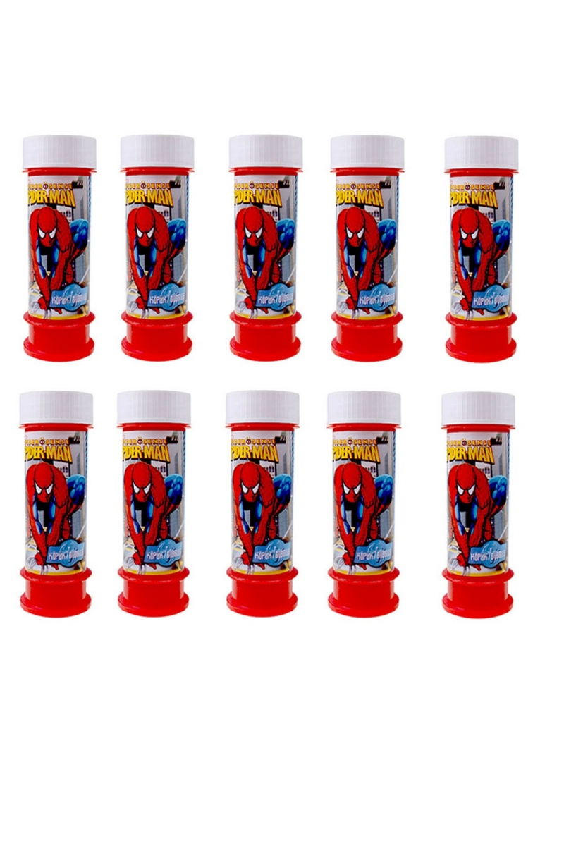 Spiderman Köpüklü Baloncuk Oyunu 10 Adet - Thumbnail