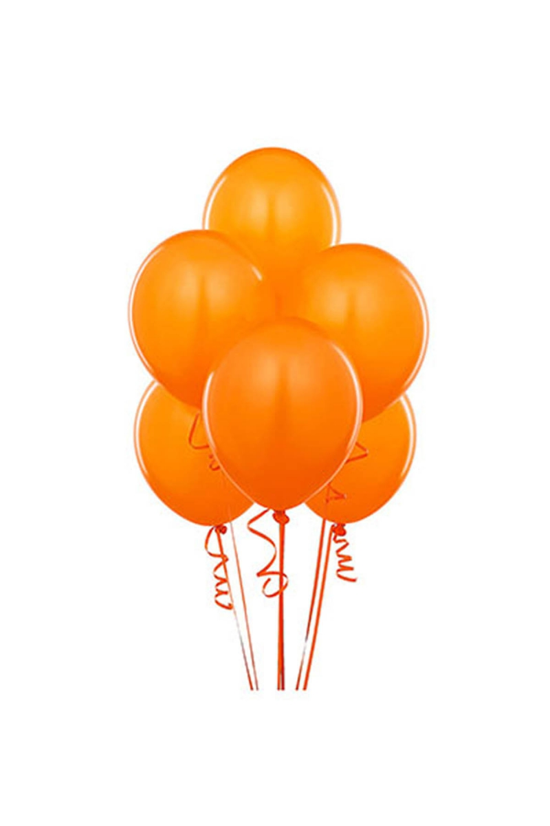 Turuncu Lateks Balon 30cm (12 inch) 30lu