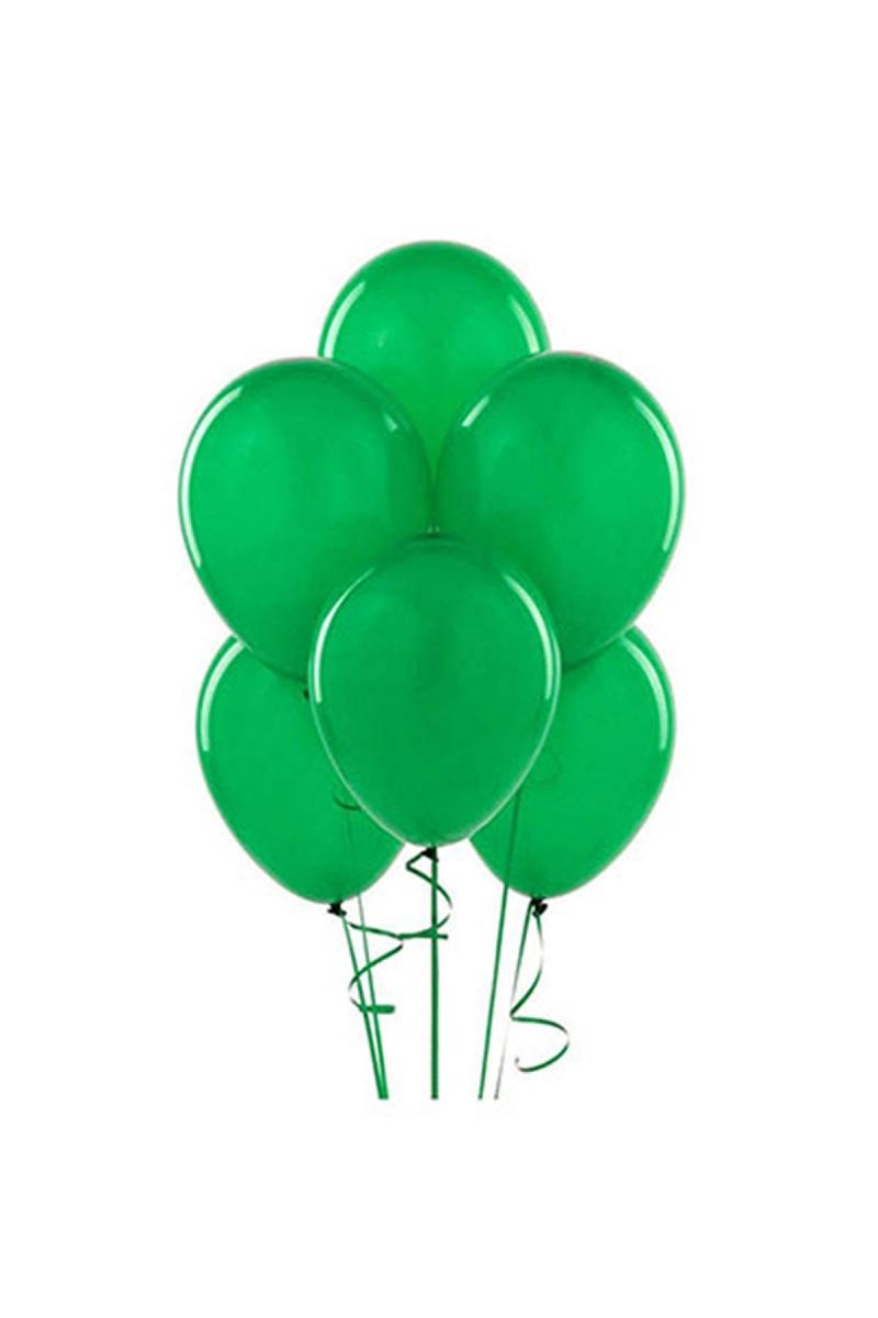 Yeşil Lateks Balon 30cm (12 inch) 30lu
