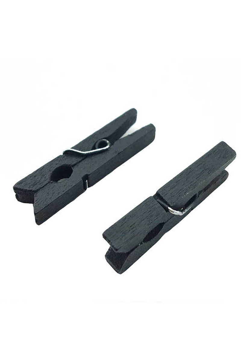Siyah Minik Mandal 3cm 100lü Paket