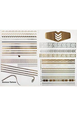 Mücevher Görünümlü Geçici Dövme (Front Row) - Thumbnail