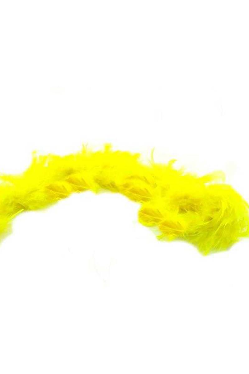 Kaz Tüyü Otriş Sarı 15cmx200cm 1 adet