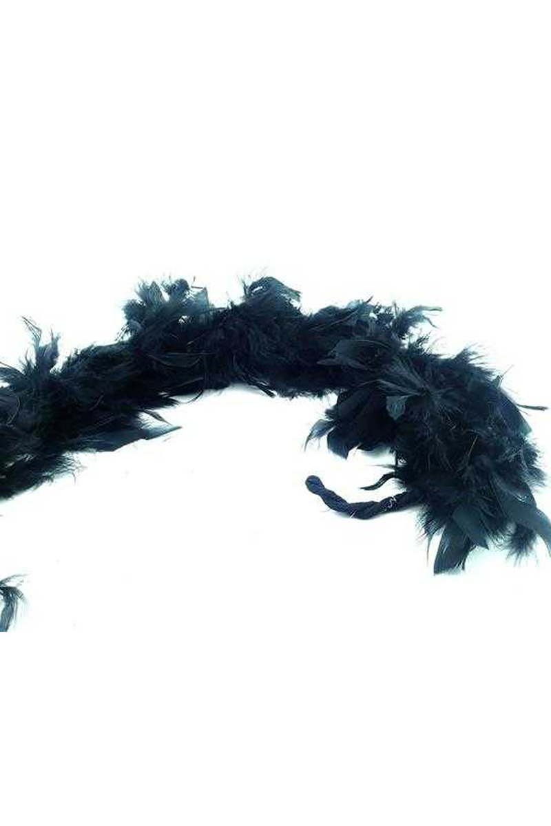 Kaz Tüyü Otriş Siyah 15cmx200cm 1 adet
