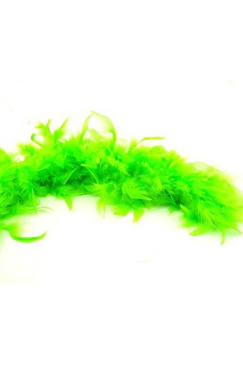 Kaz Tüyü Otriş Yeşil 15cmx200cm 1 adet