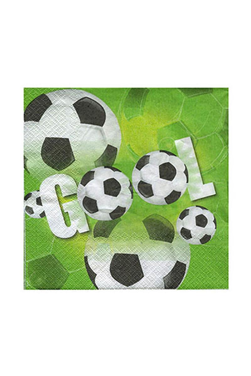 Roll-Up Futbol Partisi Kağıt Peçete 33x33cm 20li