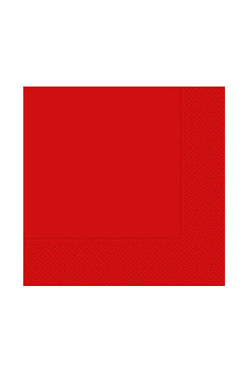 Roll-Up Kağıt Peçete Kırmızı 33 x 33cm 20li