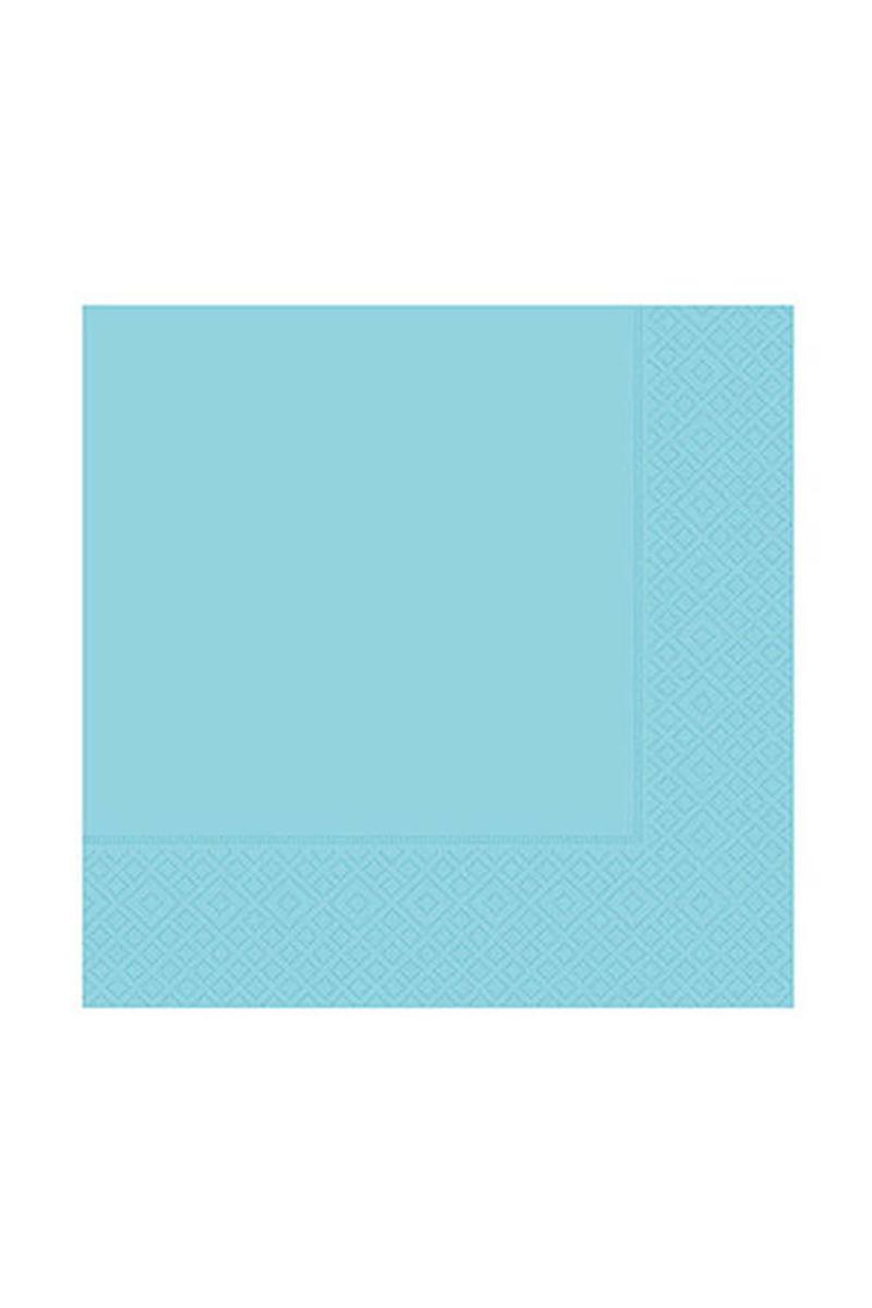 Roll-Up Kağıt Peçete Açık Mavi 33 x 33cm 20li
