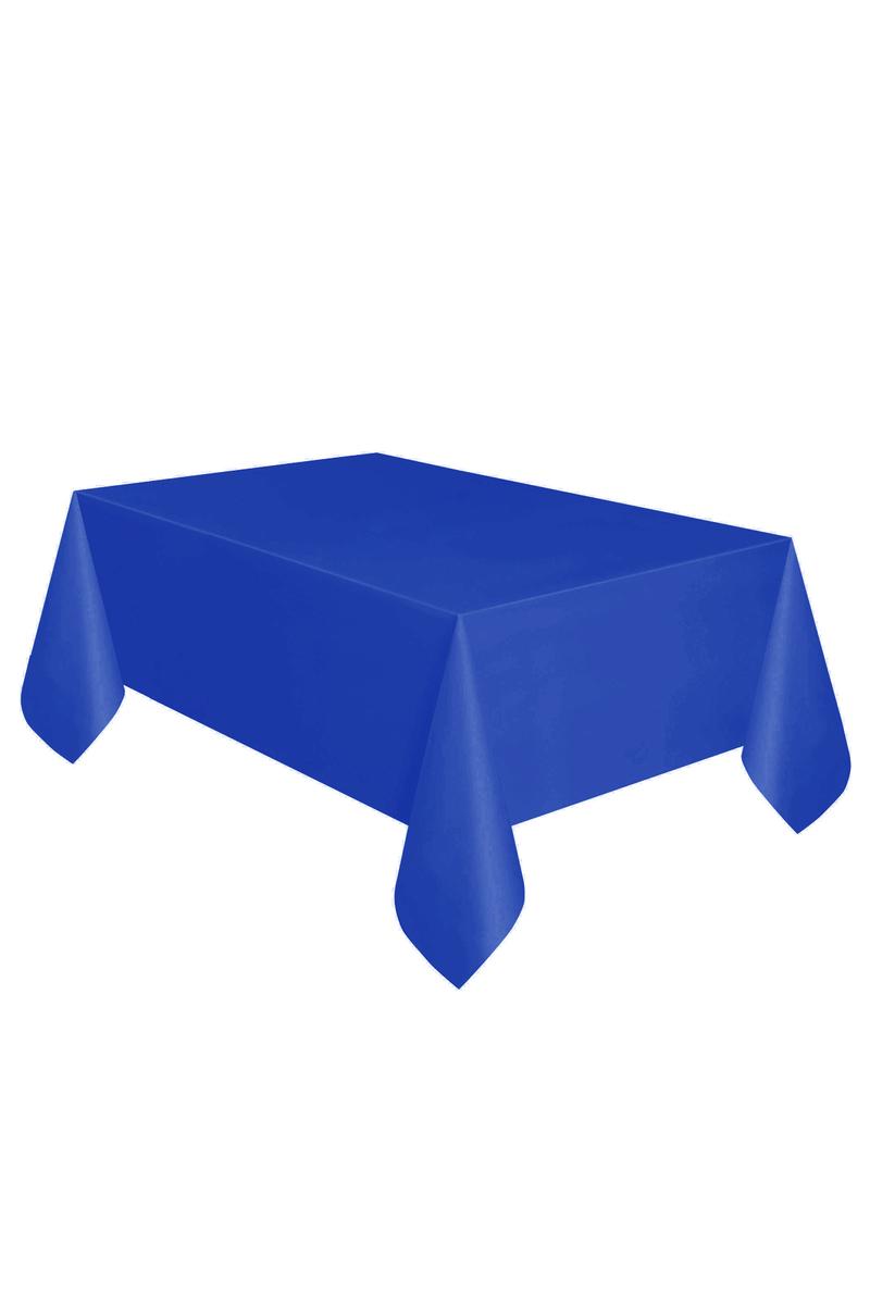 Roll-Up Plastik Masa Örtüsü Lacivert 137 x 270cm 1 Adet