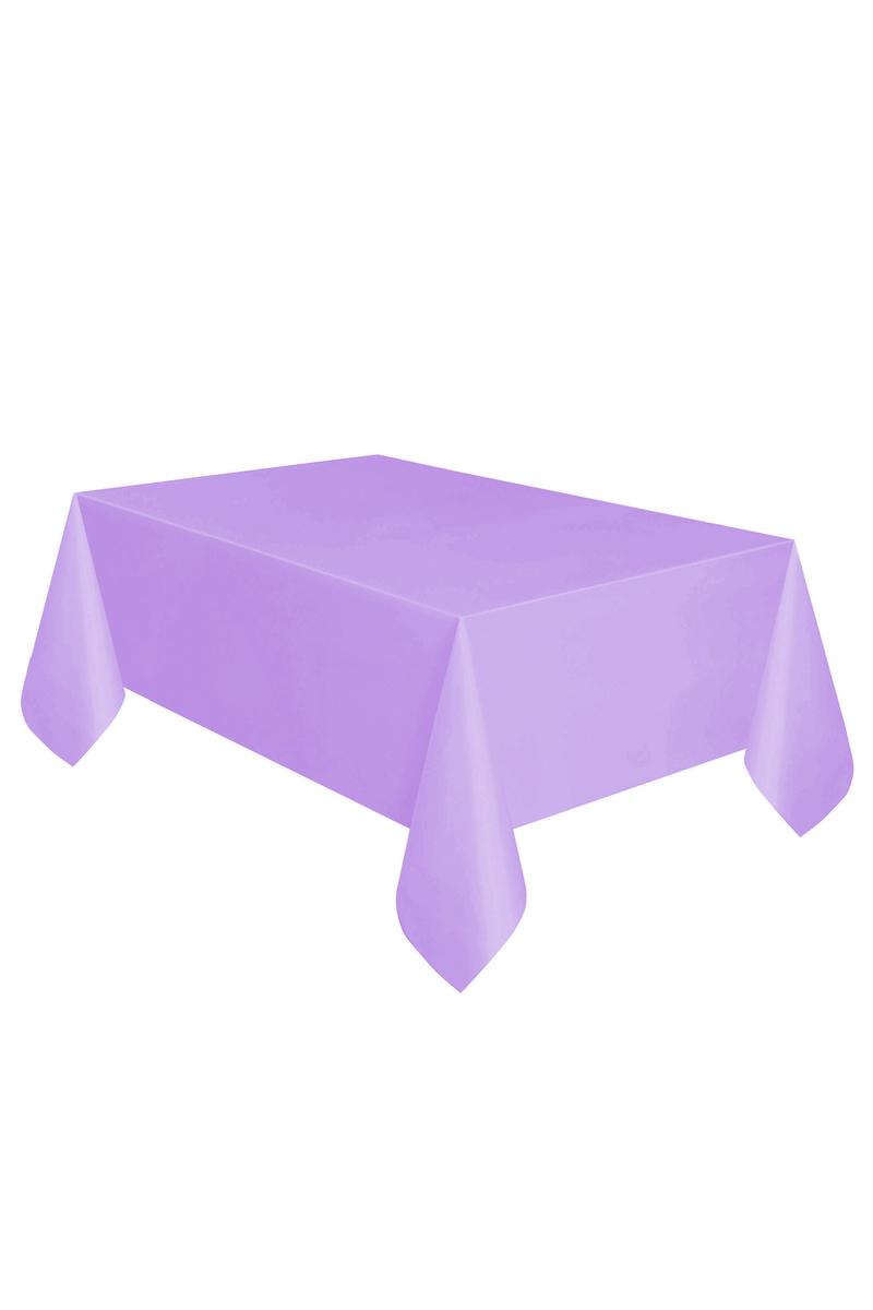 Roll-Up Plastik Masa Örtüsü Mor 137 x 270cm 1 Adet