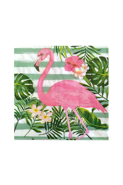 Roll-Up Flamingo Kağıt Peçete 33x33cm 20li