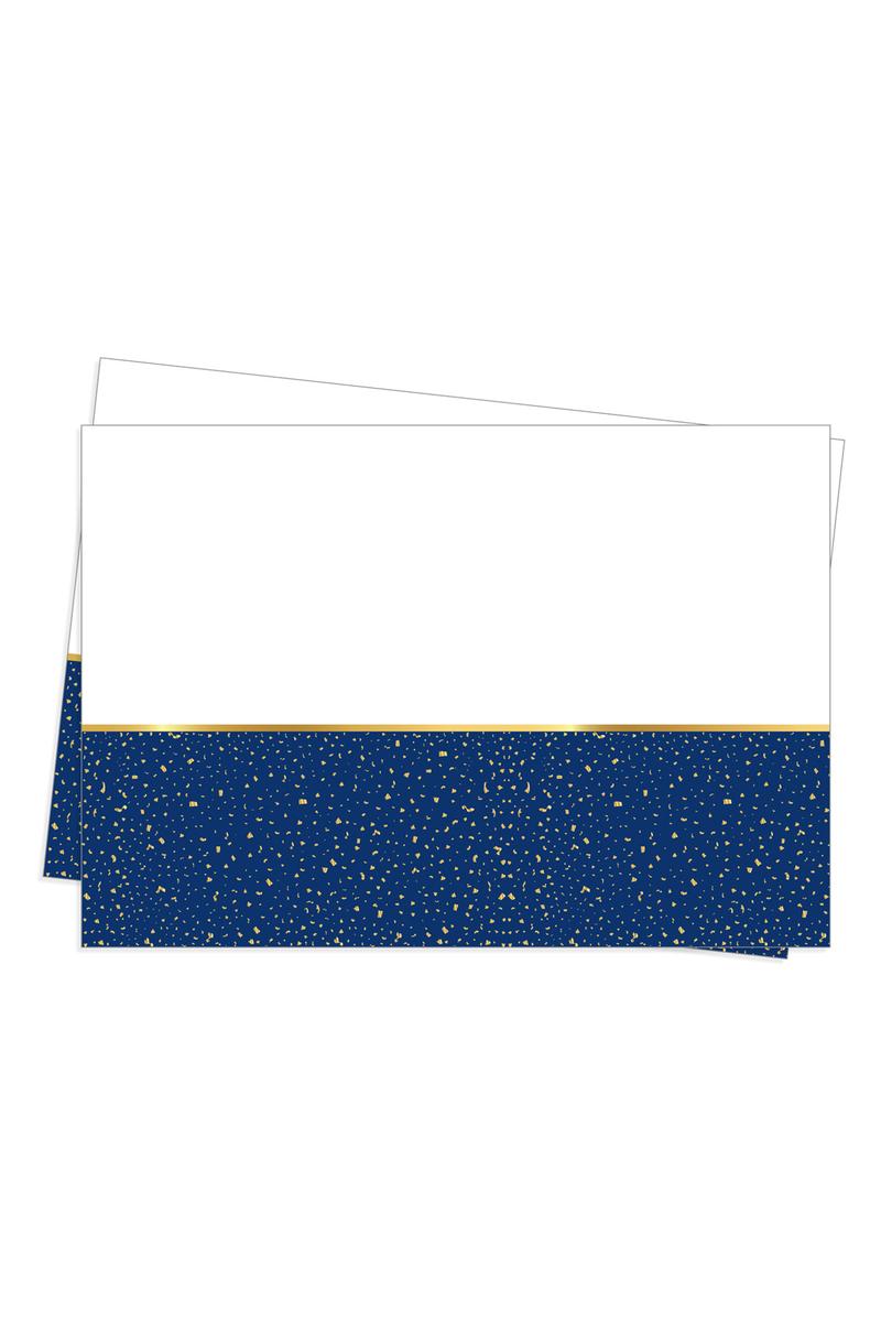 Roll-Up Plastik Masa Örtüsü Parti Zamanı Lacivert 120x180cm 1 Adet