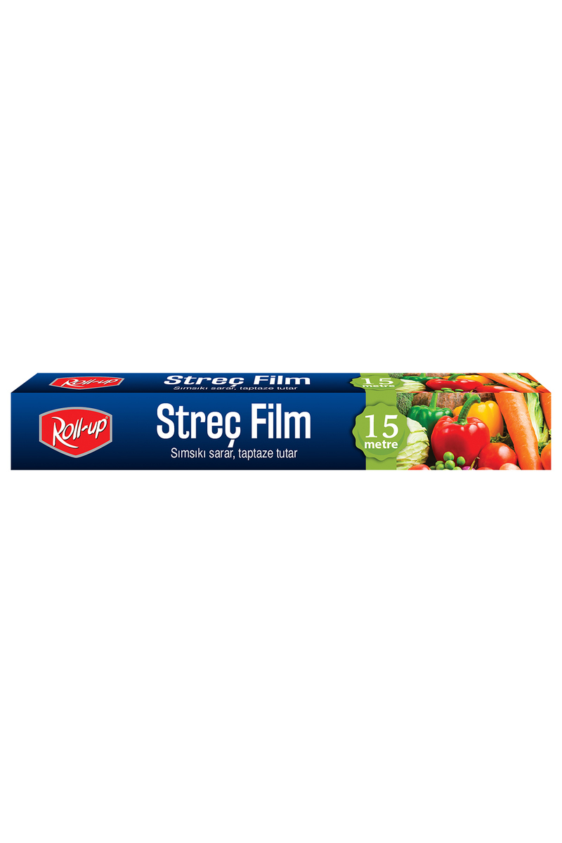 Roll-Up Streç Film 30cm x 15 m 1 Adet