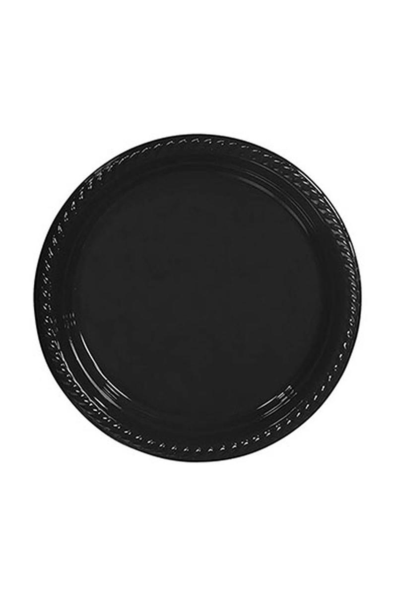 Roll-Up Plastik Tabak Siyah 26cm 8li