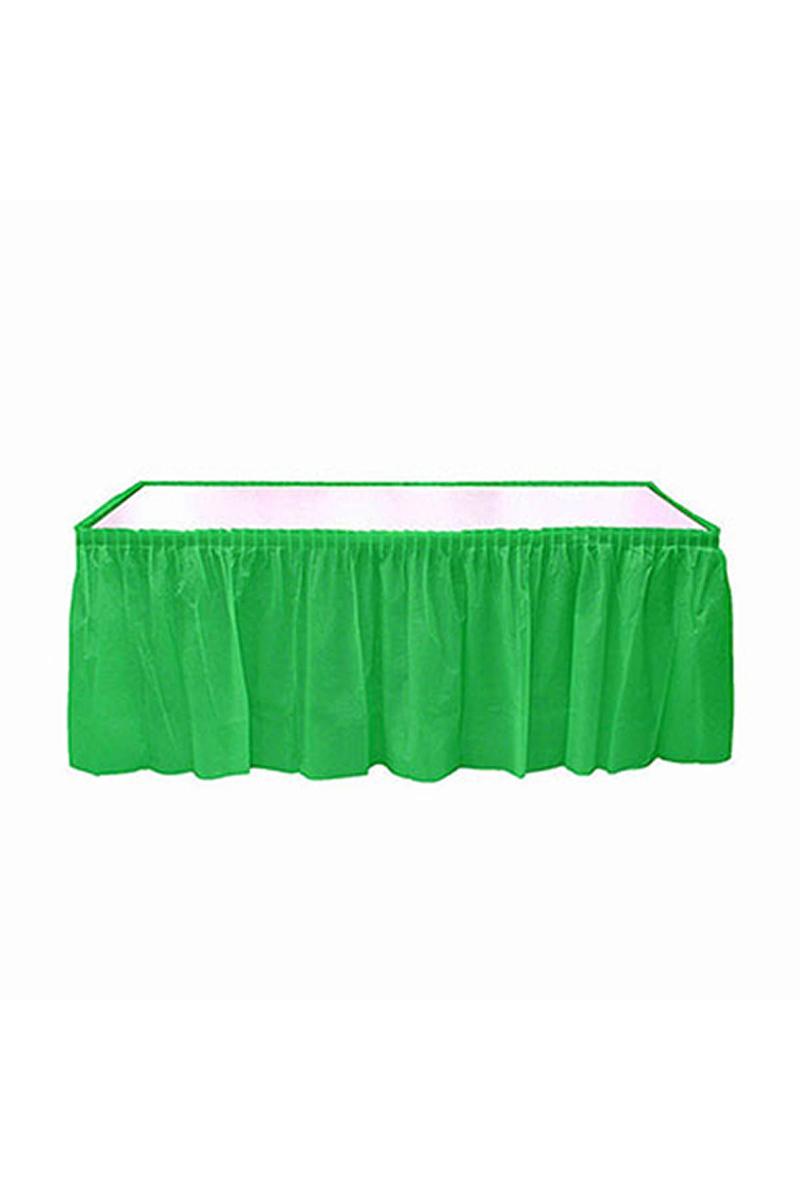 Roll-Up Plastik Masa Eteği Yeşil 75 x 426cm 1 Adet