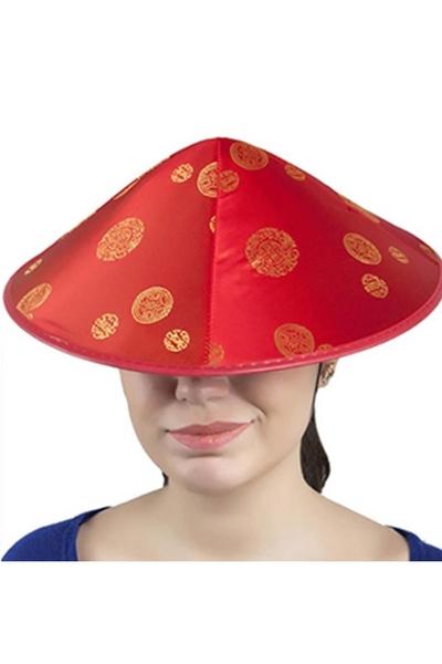 Çinli Şapkası Japon Şapkası 1 Adet
