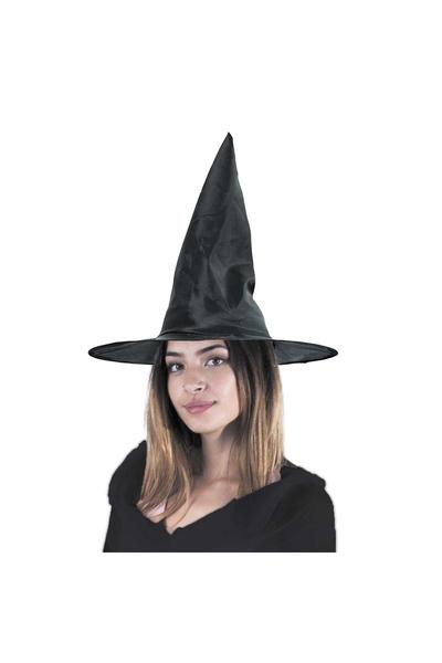 Halloween Siyah Cadı Şapkası