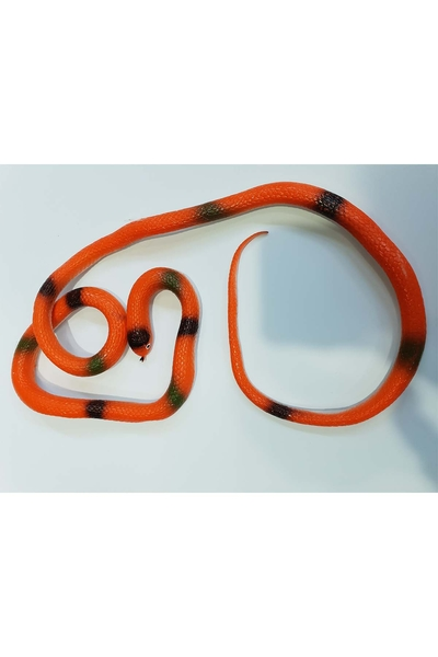 Şaka Yılanı Turuncu Renk 120cm 1 Adet