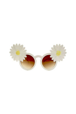 Simli Çiçekli Parti Gözlük
