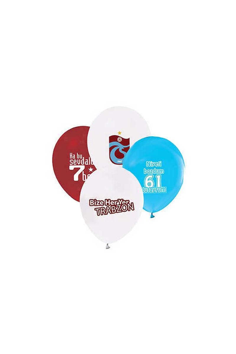 Trabzonspor Baskılı Lateks Balon 100lü