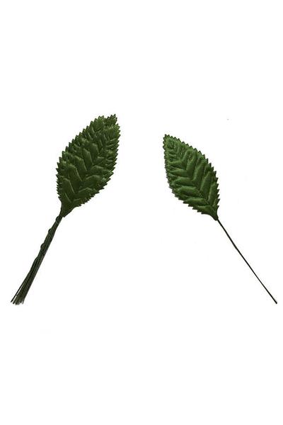 Yeşil Yaprak Dalı 2cmx5cm 144lü